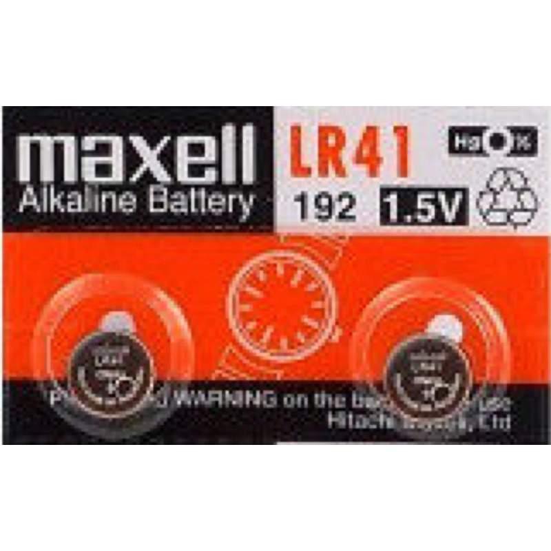 Maxell 2 Piles LR41 / 192 / 392 / 384 Maxell Alcaline 1,5V
