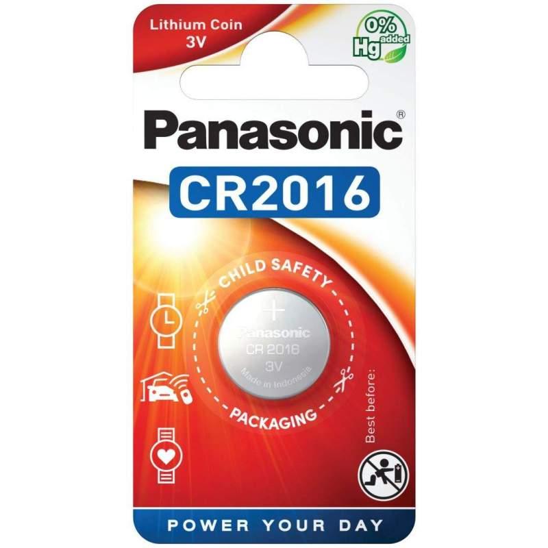 Panasonic Pile CR2016 Panasonic Bouton Lithium 3V