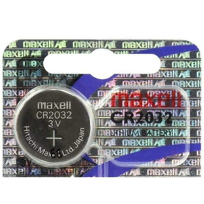Maxell Pile CR2032 Maxell Bouton Lithium 3V