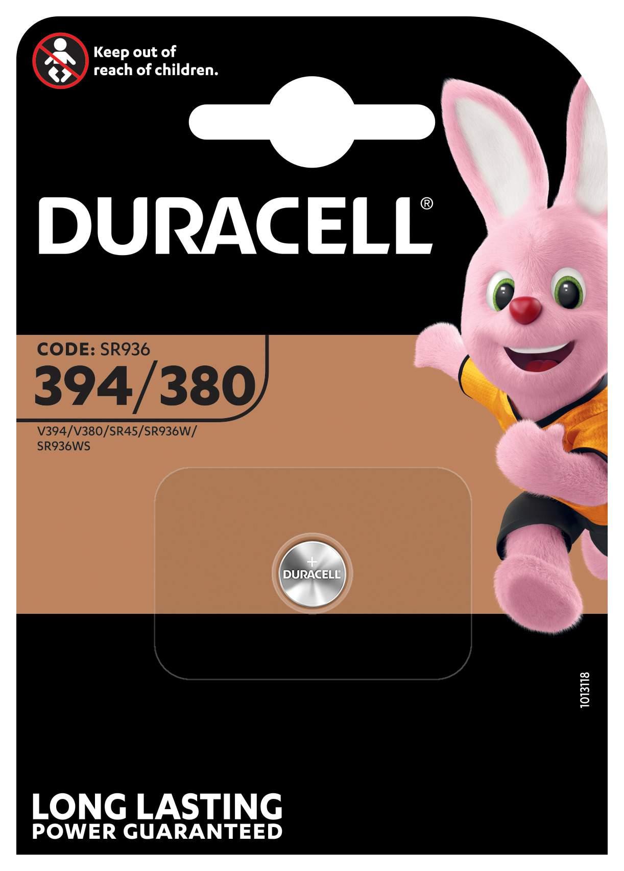 Duracell Pile 394 / 380 / SR936 / SR45 Duracell Montre
