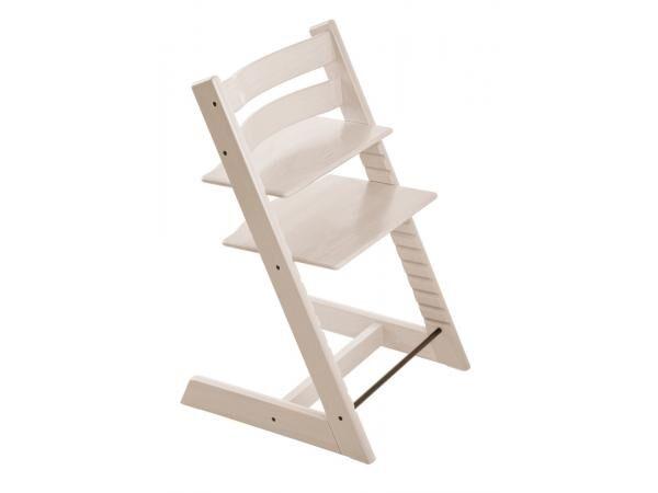Stokke Chaise haute stokke tripp trapp blanchi