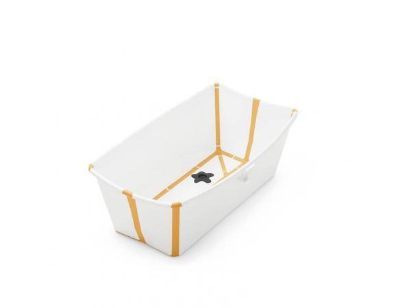 Stokke Baignoire pliante flexi bath® blanc-jaune