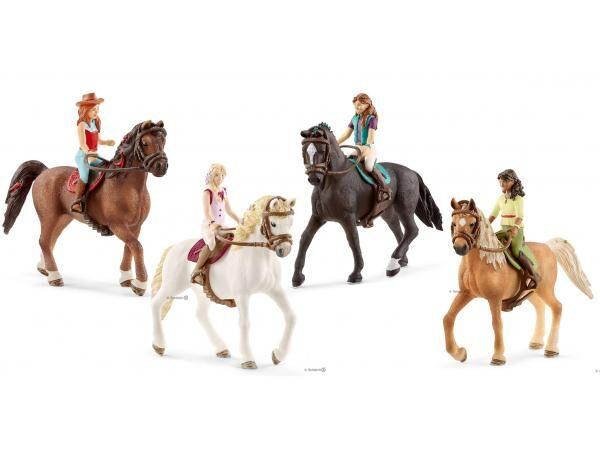 Schleich Figurines horse club sarah, lisa, sofia, sarah