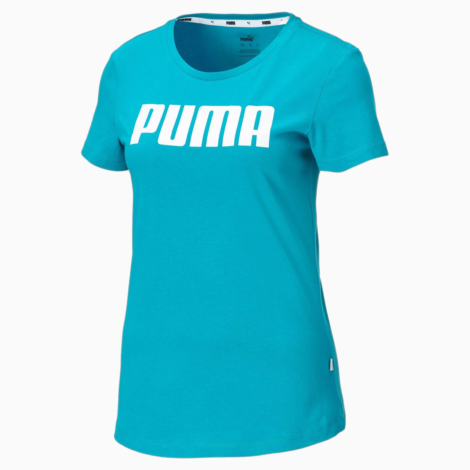 PUMA T-Shirt Essentials pour Femme, Bleu, Taille XL, Vêtements