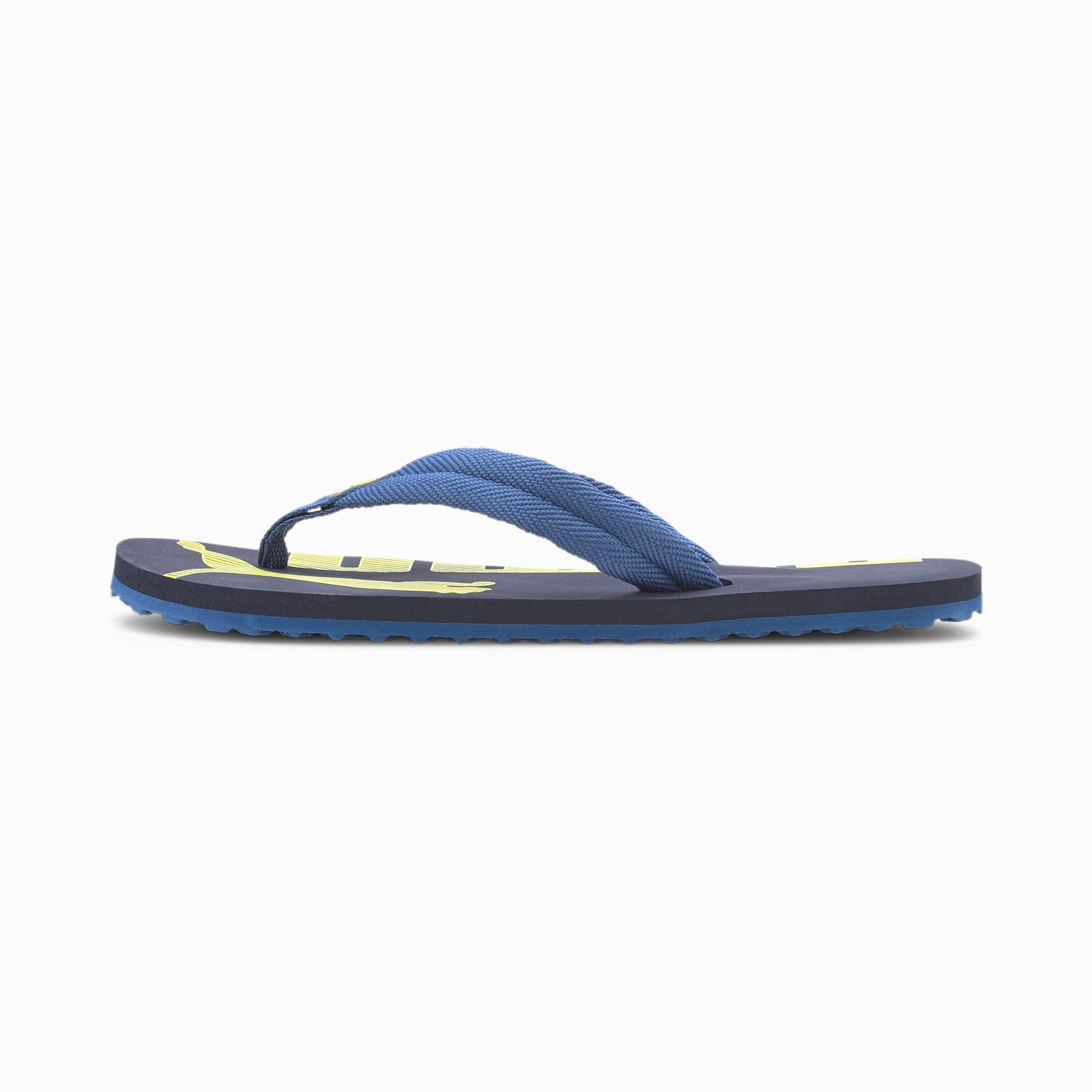 PUMA Tong Epic Flip v2 pour enfant, Bleu, Taille 35.5, Chaussures