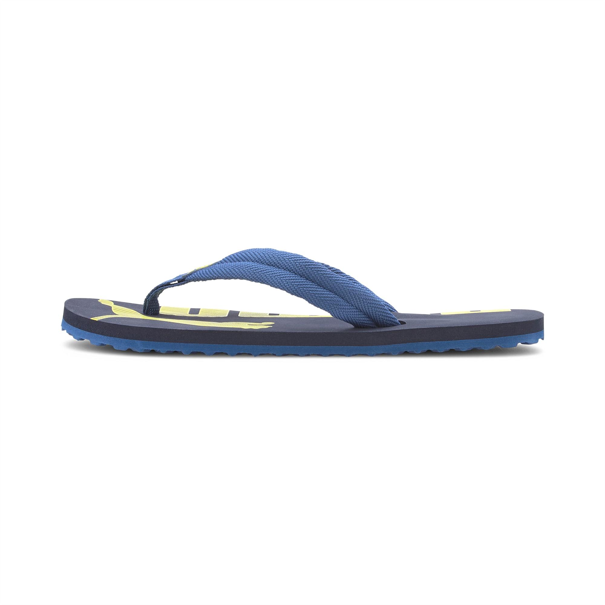 PUMA Tong Epic Flip v2 pour enfant, Bleu, Taille 38, Chaussures