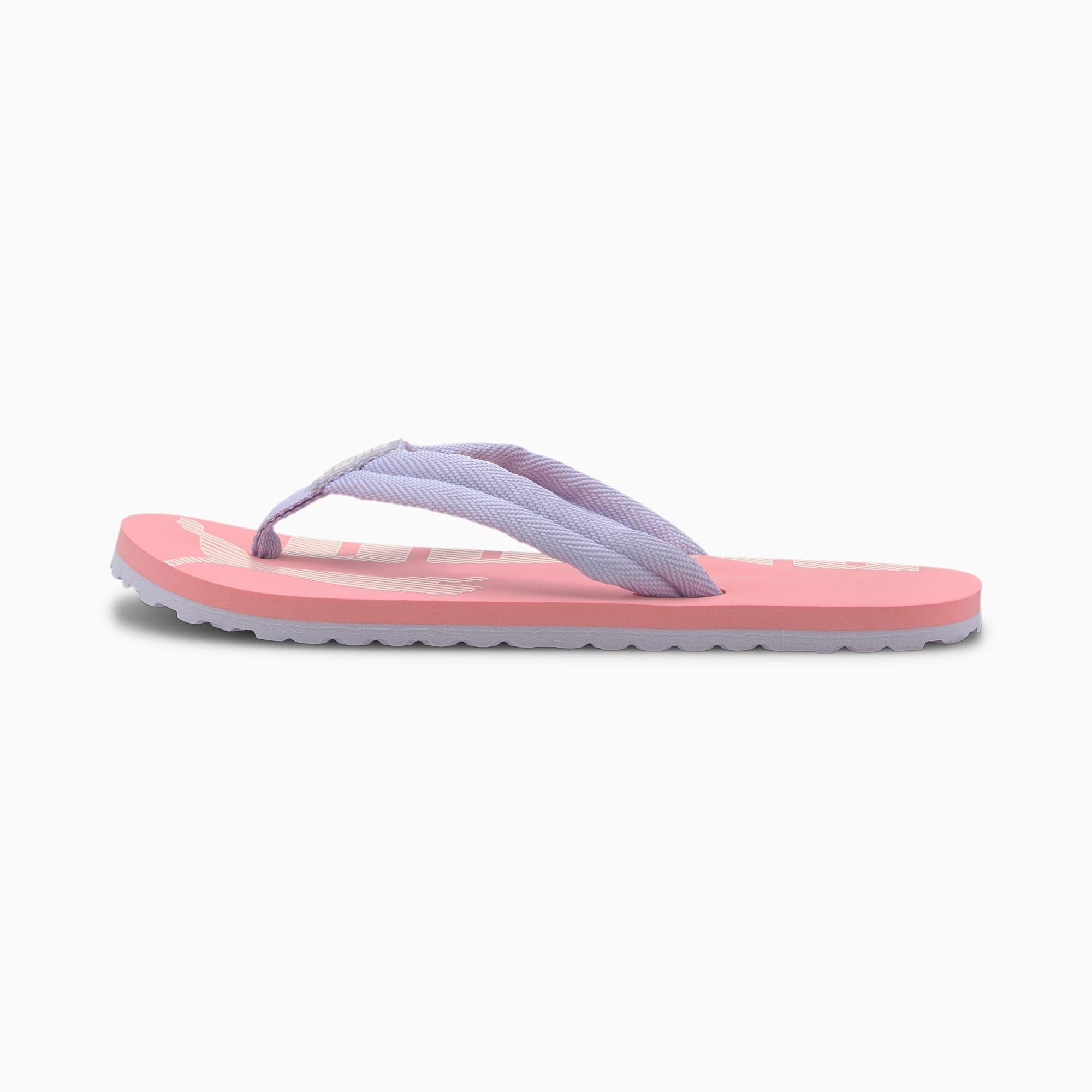 PUMA Tong Epic Flip v2 pour enfant, Violet/Bruyère, Taille 37, Chaussures