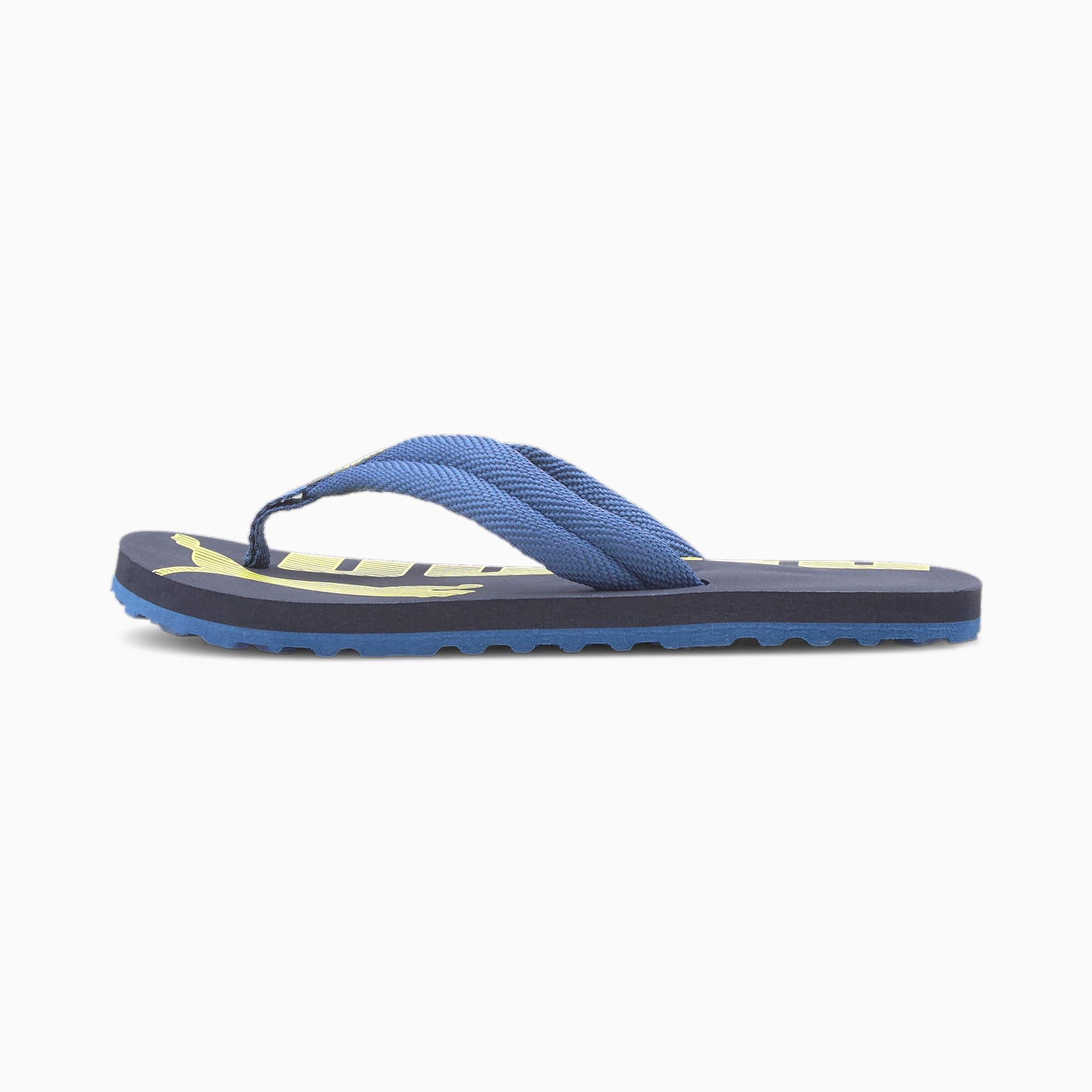 PUMA Chaussure Epic Flip v2 Preschool pour enfants, Bleu, Taille 34.5, Chaussures