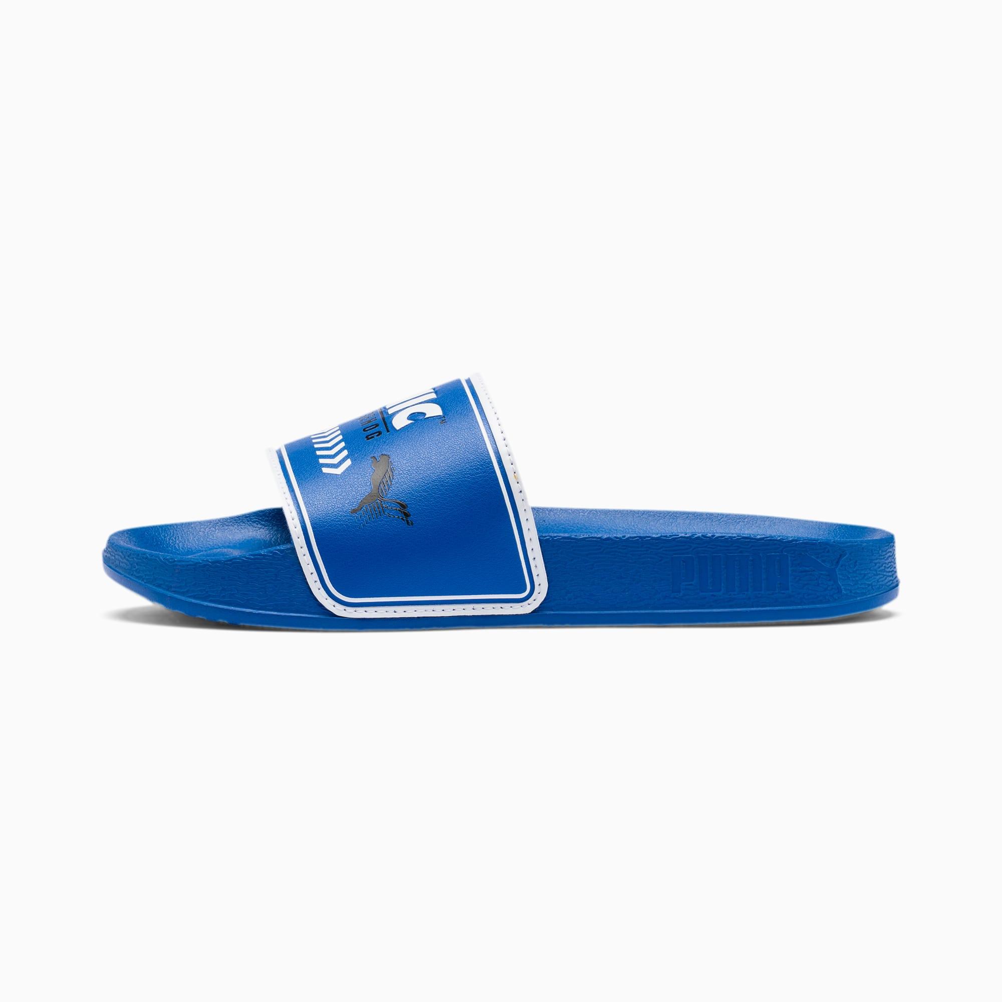 PUMA Sandale PUMA x SONIC Leadcat pour enfant, Bleu/Blanc, Taille 34.5, Chaussures