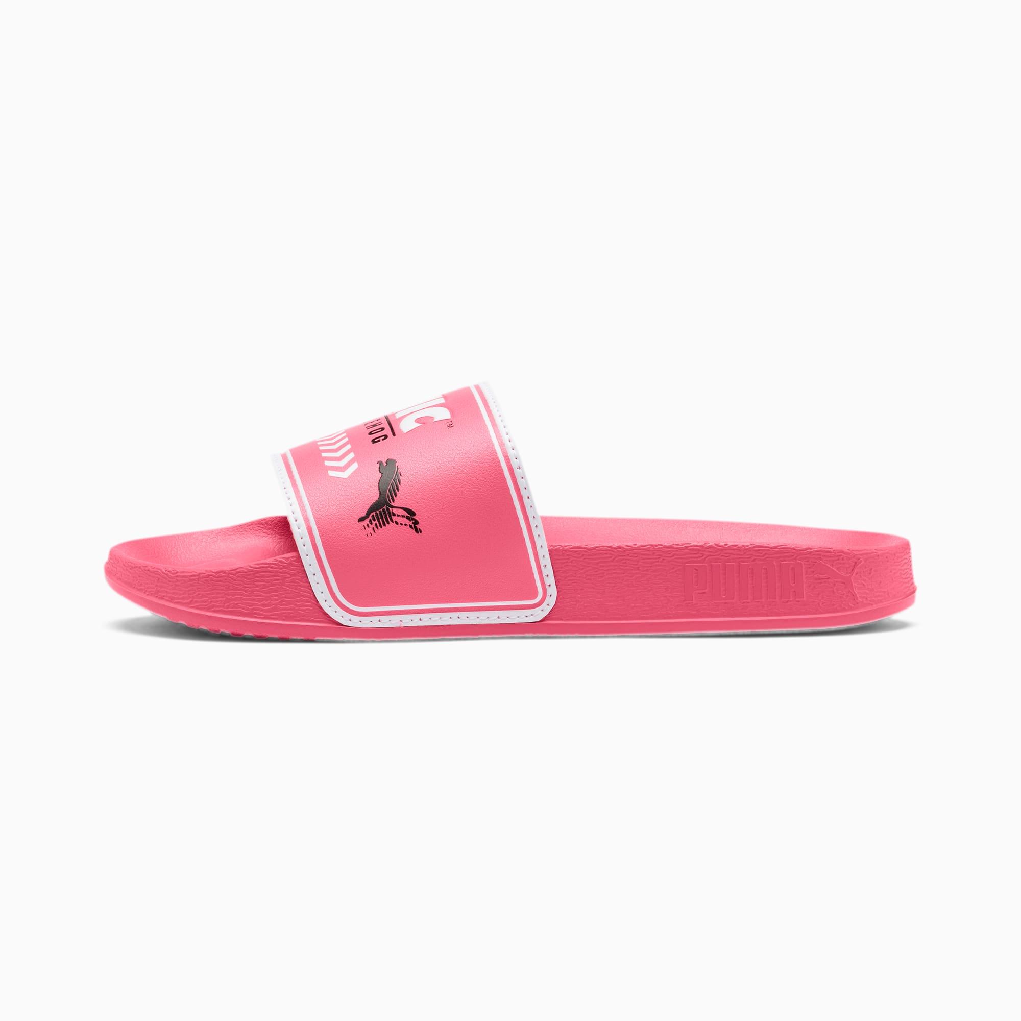 PUMA Sandale PUMA x SONIC Leadcat pour enfant, Blanc, Taille 34.5, Chaussures