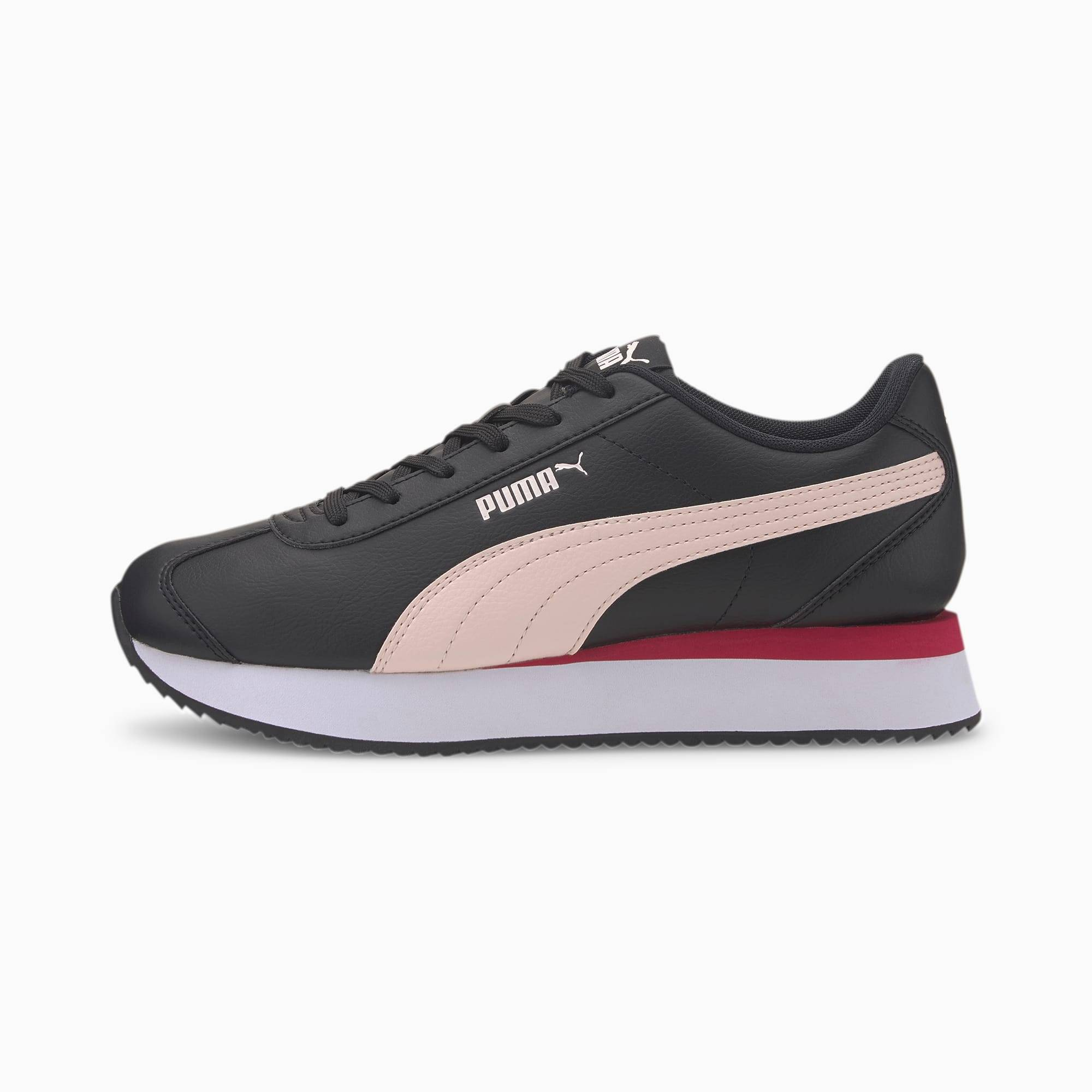 PUMA Chaussure Basket Turino Stacked pour Femme, Taille 35.5, Chaussures