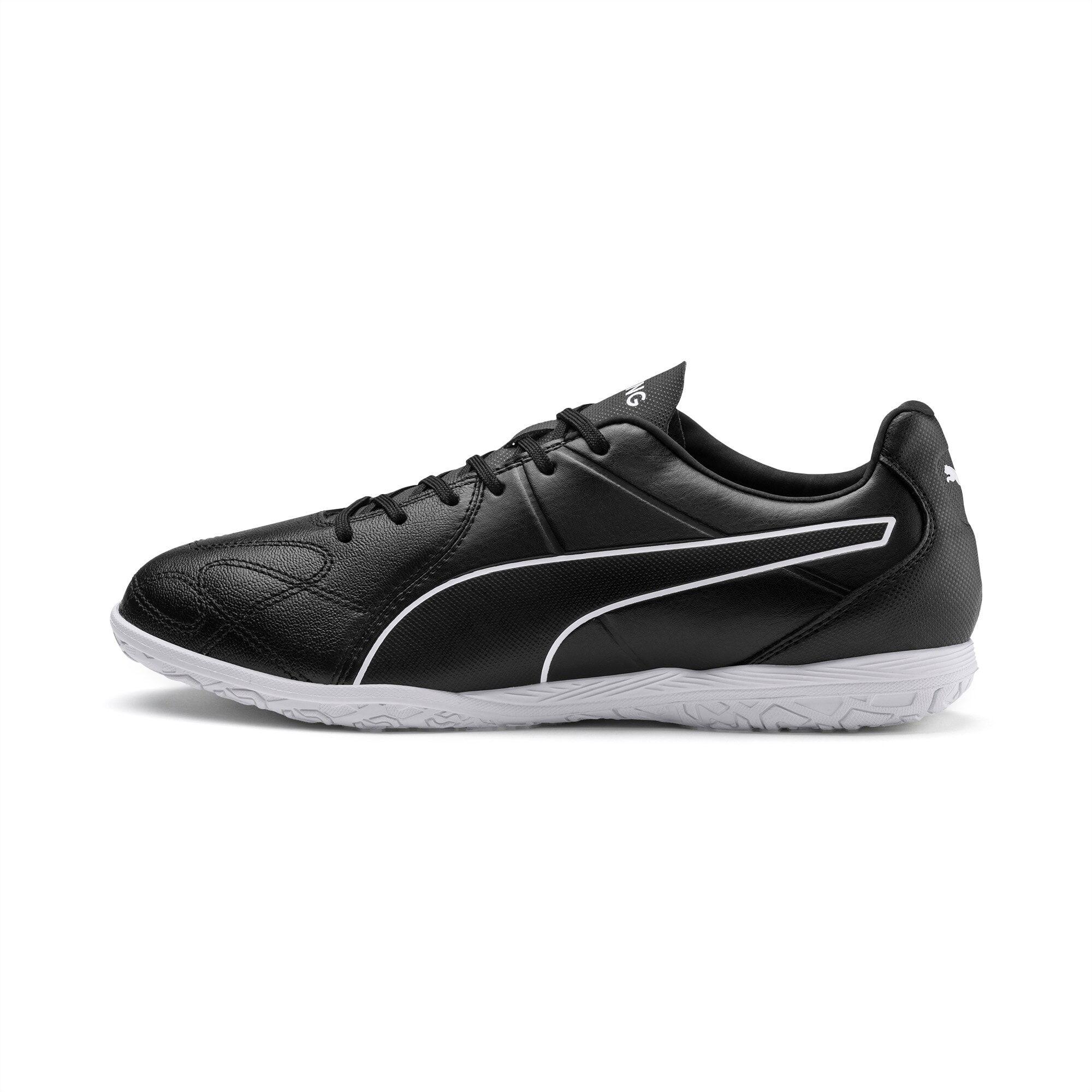 PUMA Chaussure de foot KING Hero IT, Noir/Blanc, Taille 36, Accessoires
