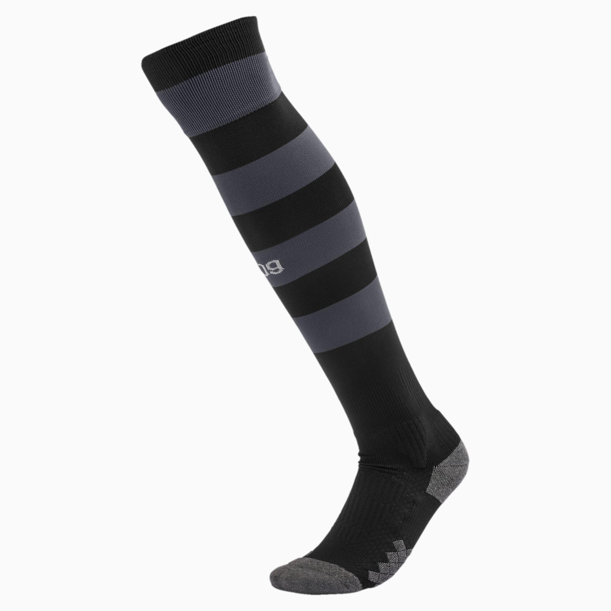 PUMA Chaussure Chaussettes rayées BVB pour Homme, Noir, Taille 43-46, Chaussures