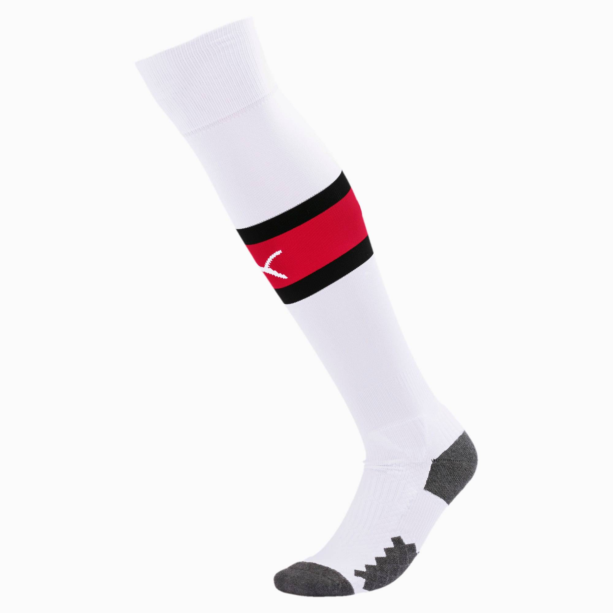 PUMA Chaussure Chaussettes AC Milan Band pour Homme, Blanc/Rouge, Taille 35-38, Chaussures