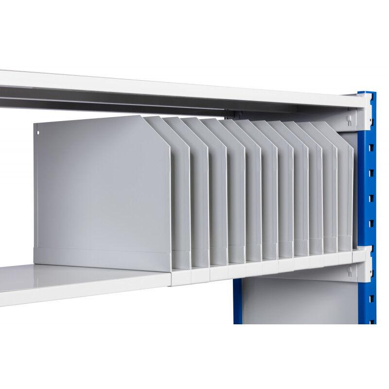 Séparateur de rayonnages légers 180 Kg et 300 Kg