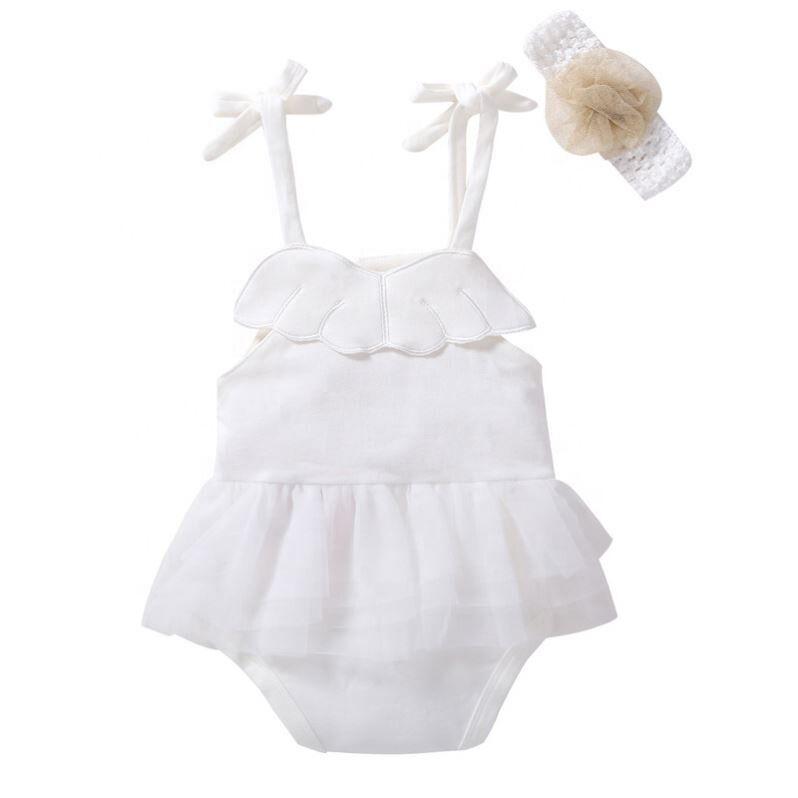 Bébé Fille Vêtements Body Sunsuit Tenues Beau Bébé Bodys 3-24 Mois pour la Fête D'anniversaire Bodys