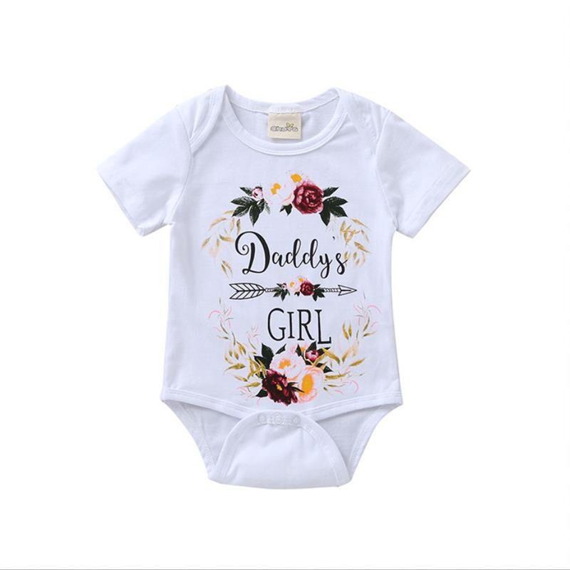 L'été 2019 Enfant En Bas Âge Bébé Fille Barboteuses Sans Manches Bodies Imprimés Tenues Sunsuit Bebes Vêtements Combishort