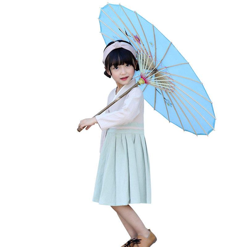 Bébé cheongsam qipao Chinois traditionnels hanfu robe ethnique enfants vêtements fille robes de princesse