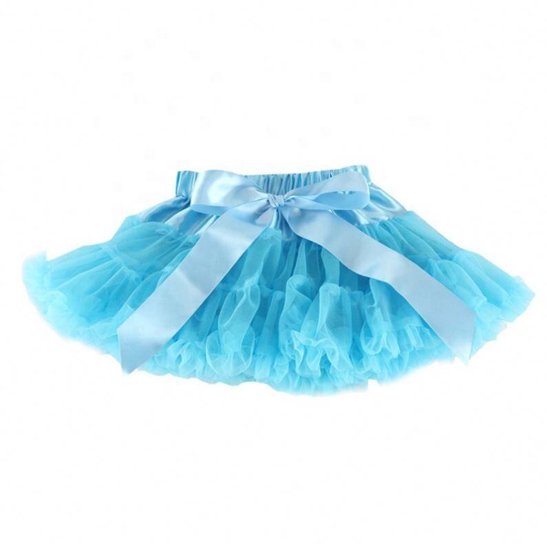 Bébé Filles Tutu Jupe Moelleux Enfants Ballet Enfants Pettiskirt Bébé Fille Jupes Princesse Tulle Fête Danse Jupes pour Filles