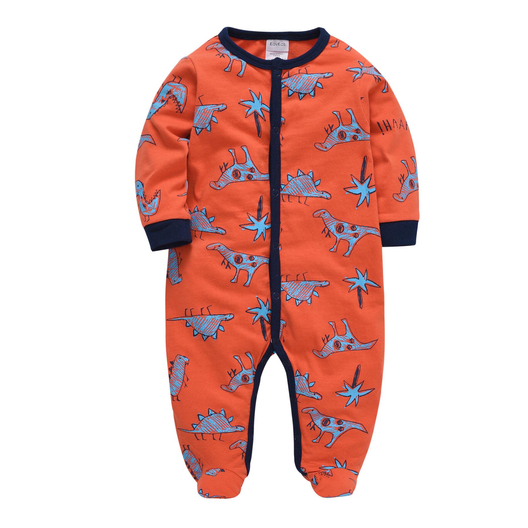 Bébé Garçon Barboteuses enfants vêtements coton tissu nouveau-né à manches longues