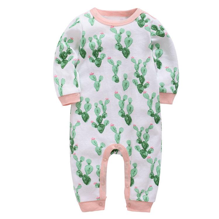 Bébé barboteuse pour garçon fille vêtements combinaison à manches longues nouveau-né vêtements