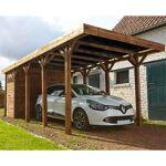 madeira  MADEIRA Carport bois HARRY, toiture en polycarbonate - 308 x 660... par LeGuide.com Publicité