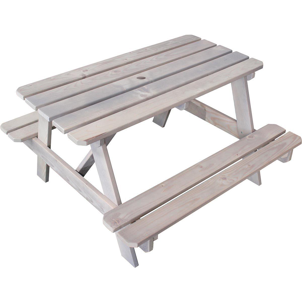 SOULET Table de pique-nique en bois pour enfant - Picnic