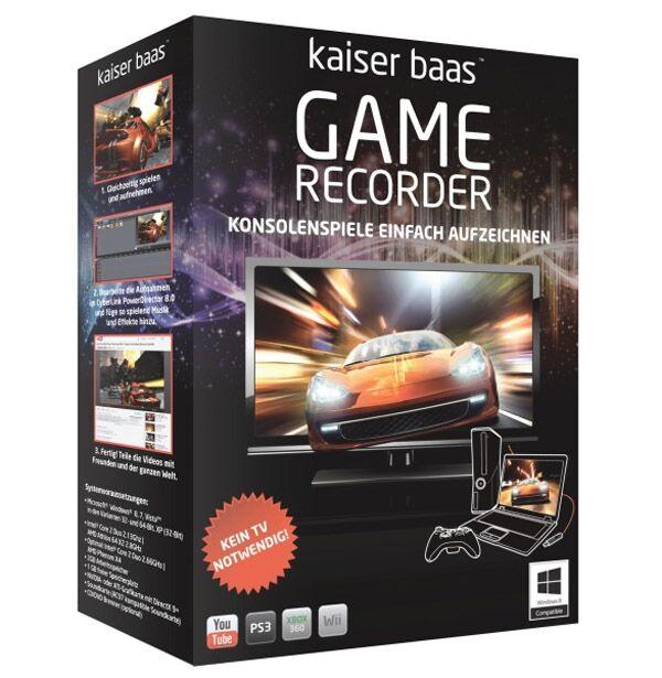Kaiser Baas Enregistreur de jeux du Kaiser Baas