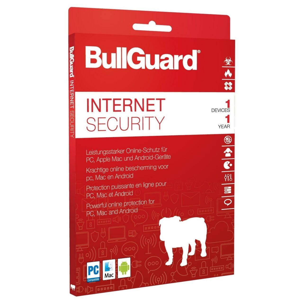BullGuard Internet Security 2020 version complète 1 Année 1 Appareil