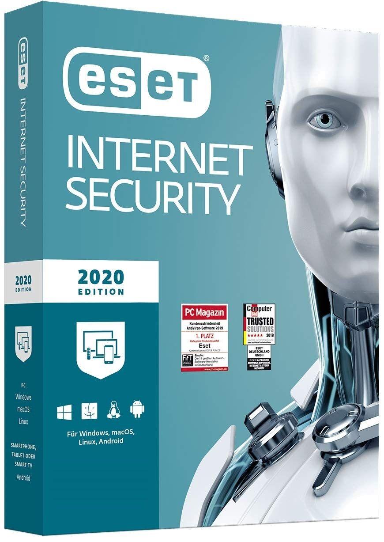 ESET Internet Security 2020 version complète 1 Appareil 1 Año