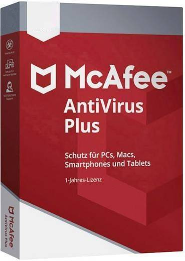 McAfee Antivirus Plus 2020 3 Appareils 1 Año