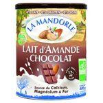 la mandorle  La Mandorle Lait d'amande au chocolat BIO 400 g de poudre... par LeGuide.com Publicité