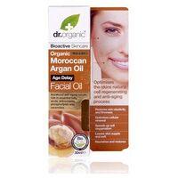 Dr. Organic Huile pour le visage d'argan du Maroc 30 ml de huile - Dr. Organic