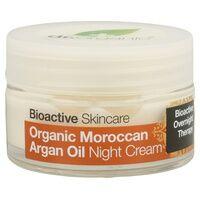 Dr. Organic Crème de nuit à l'huile d'Argan du Maroc 50 ml de crème - Dr. Organic