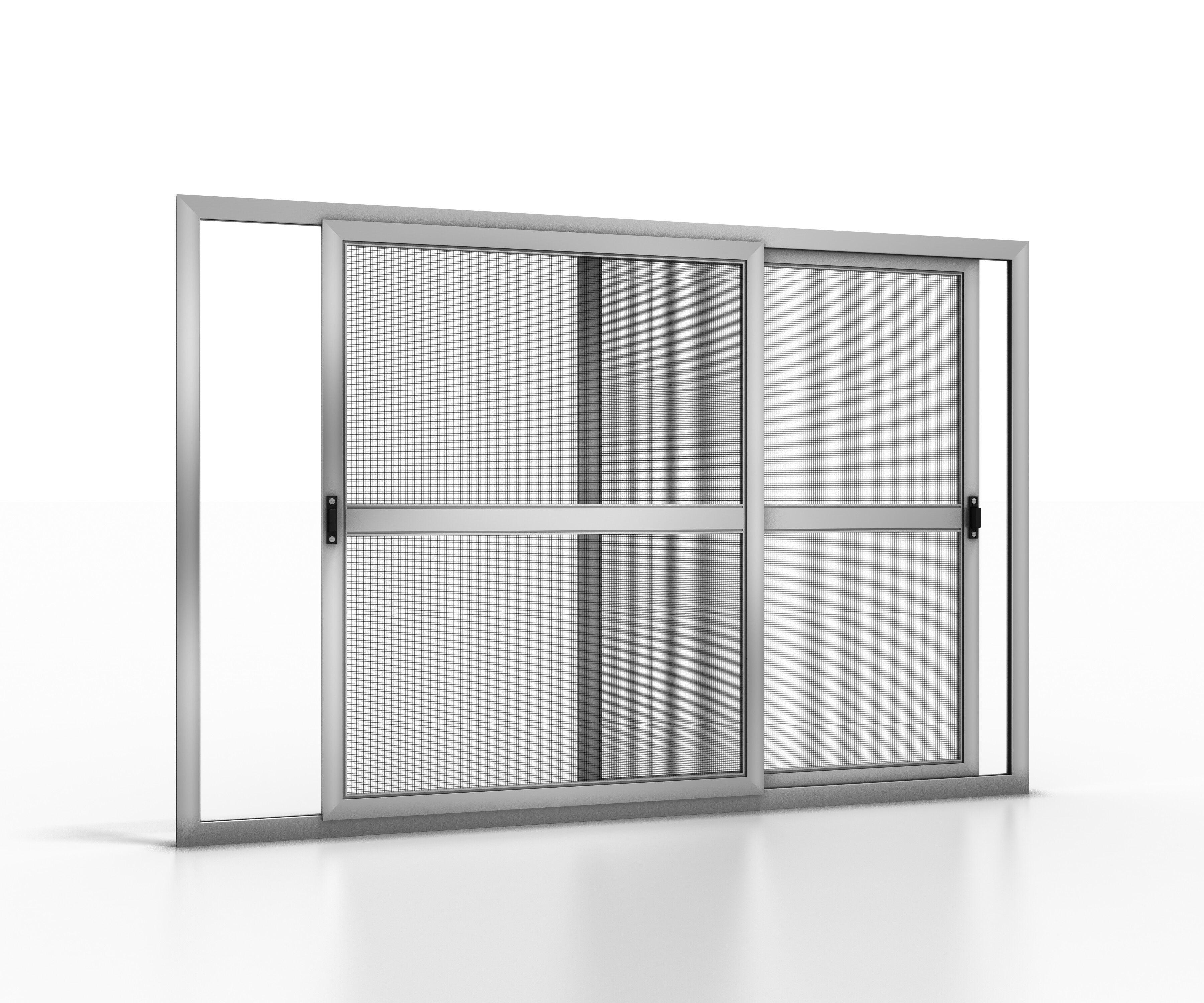 NoFlyStore Moustiquaire coulissante pour fenêtre NoFlyStore GOLD.02