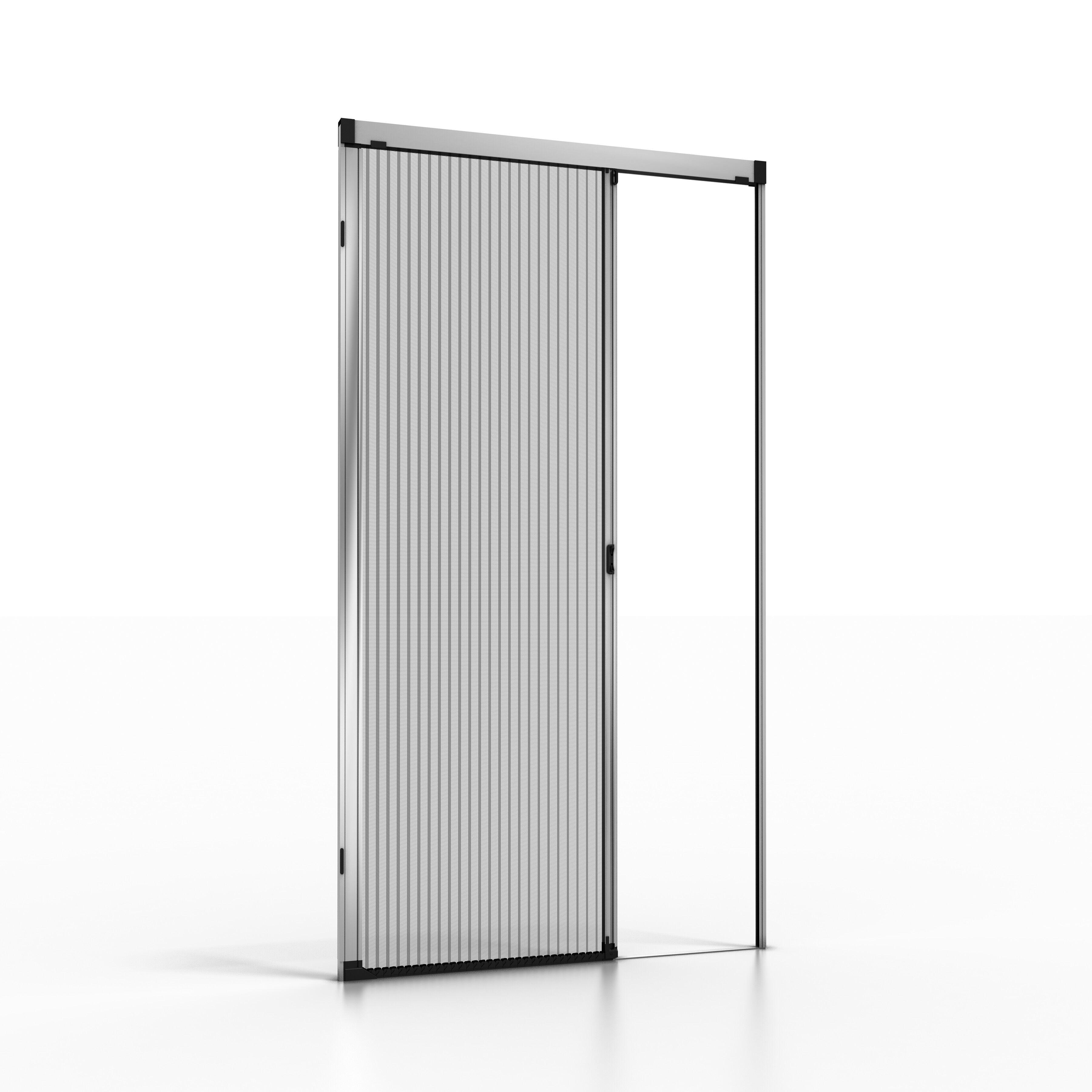 NoFlyStore Moustiquaire plissée pour porte et porte-fenêtre NoFlyStore PLATINUM.01