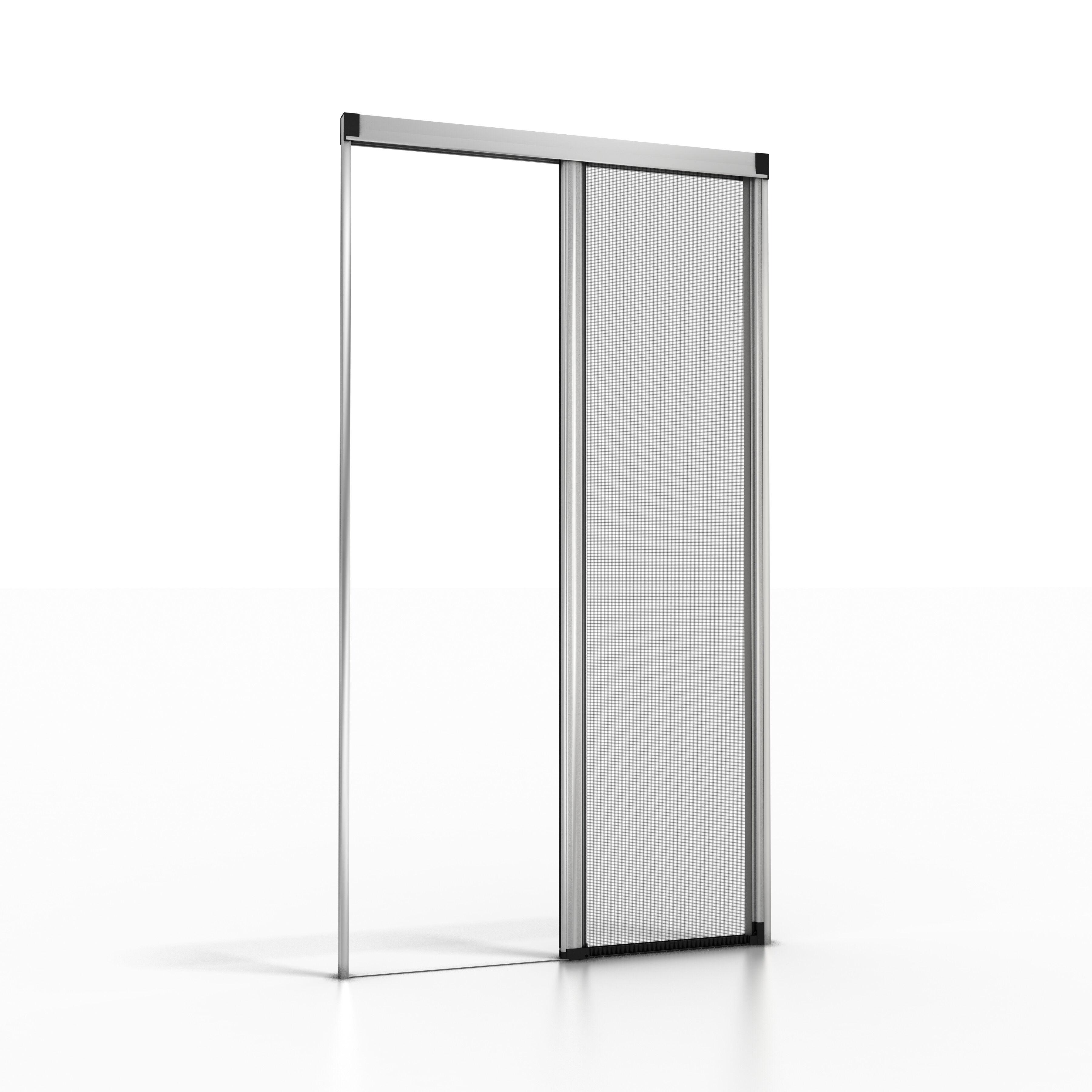 NoFlyStore Moustiquaire enroulable pour porte et porte-fenêtre NoFlyStore SILVER.04