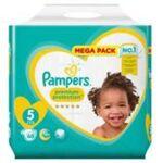 pampers  Pampers premium couche protection t5 11-23kg paquet/68  par LeGuide.com Publicité
