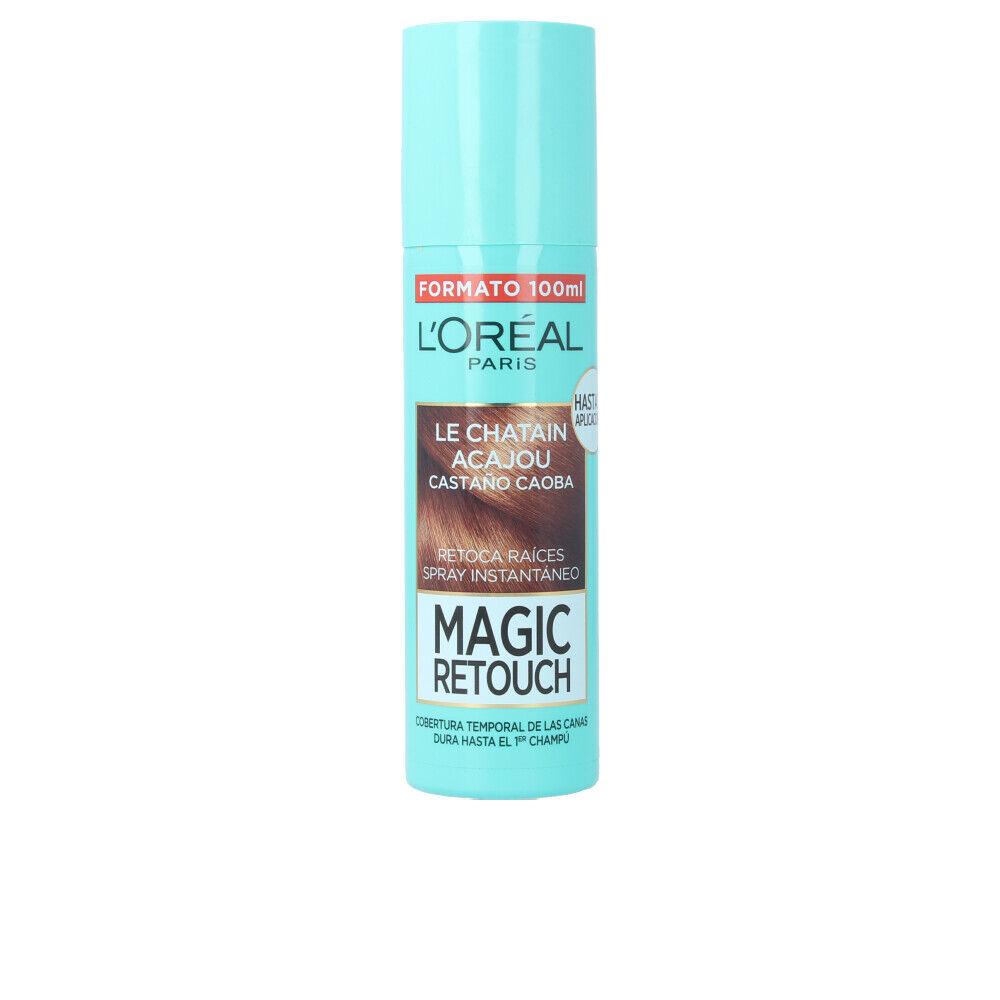 L'Oreal Makeup MAGIC RETOUCH  #6-castaño caoba spray  100 ml