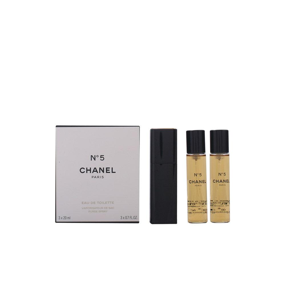 Chanel Nº 5 edt spray twist & spray 3 x  20 ml