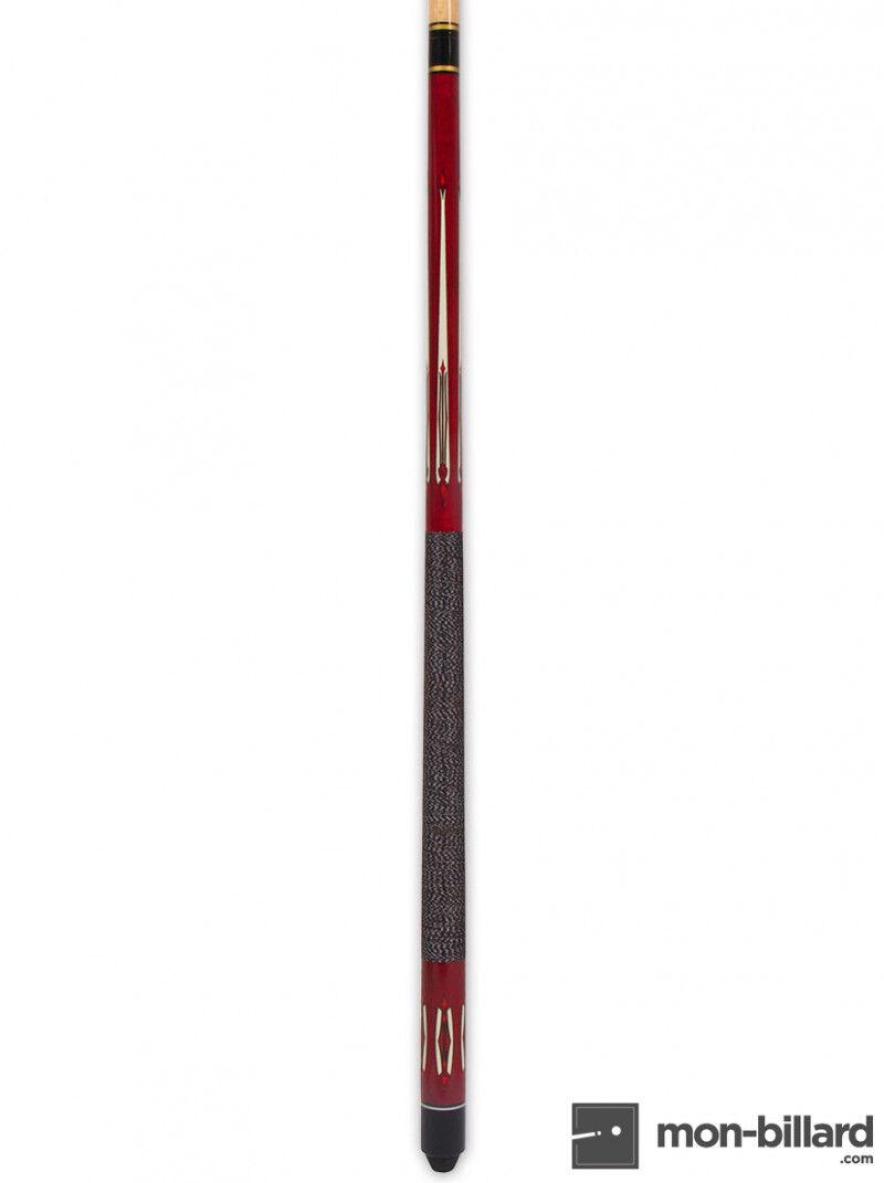 Tycoon Queue de Billard Américain Tycoon Rouge 145 cm (12mm)