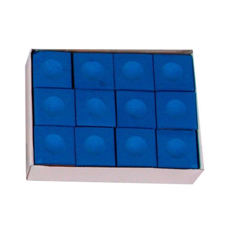 Pioneer Billard Boite de 12 craies Pioneer bleues