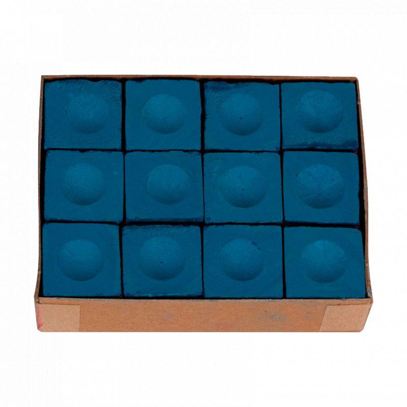 Triangle Chalk Boite de 12 craies Triangle bleues
