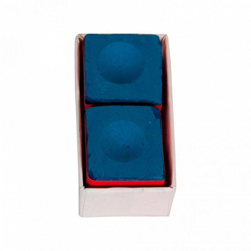 Master Billard Boite de 2 craies Master bleues