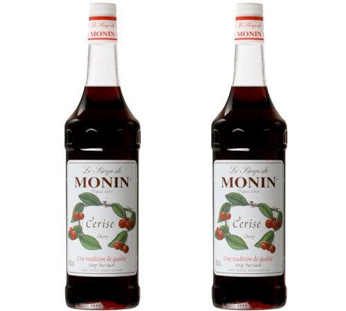 Monin Sirop Monin - Cerise - 2 x 1L - Arômes naturels