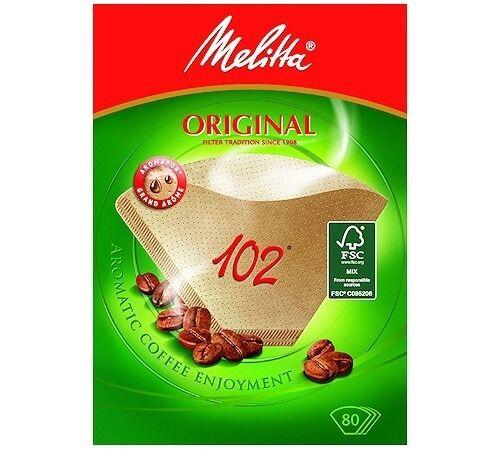Melitta Filtres À Café Bruns Melitta Original 102 X 80