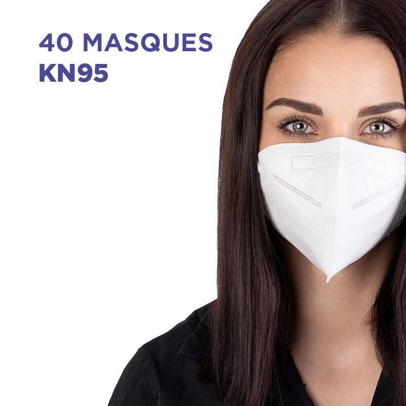 Masque KN95/FFP2 Boite x40