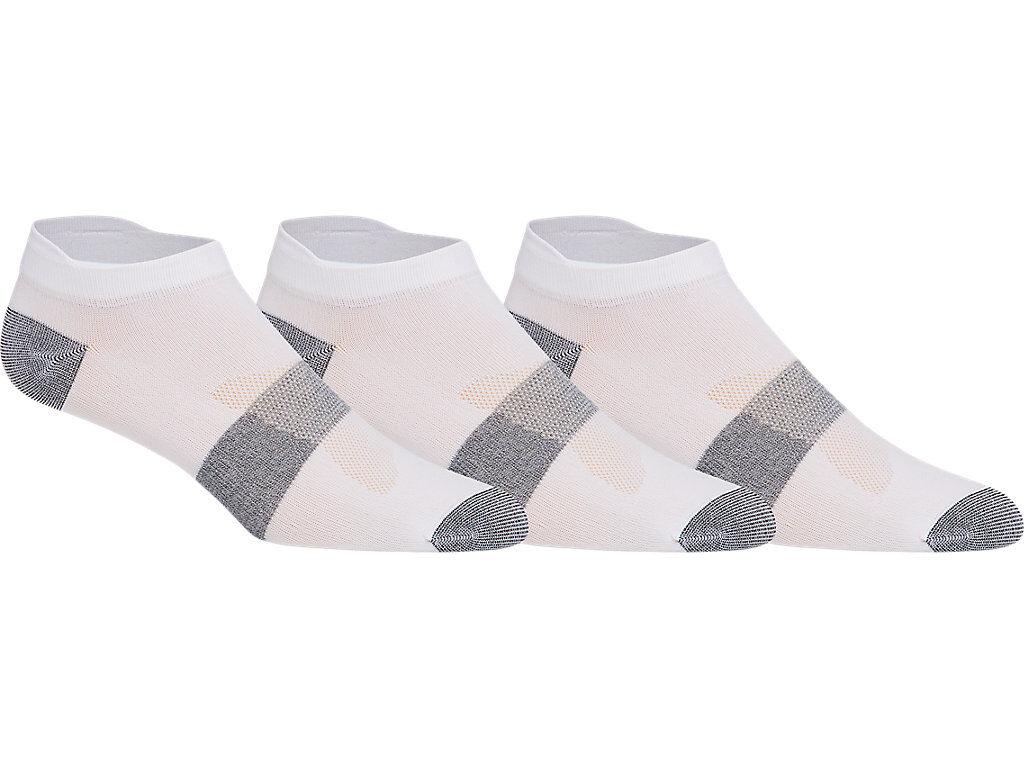 Asics 3ppk Lyte Sock Real White Unisex Taille III