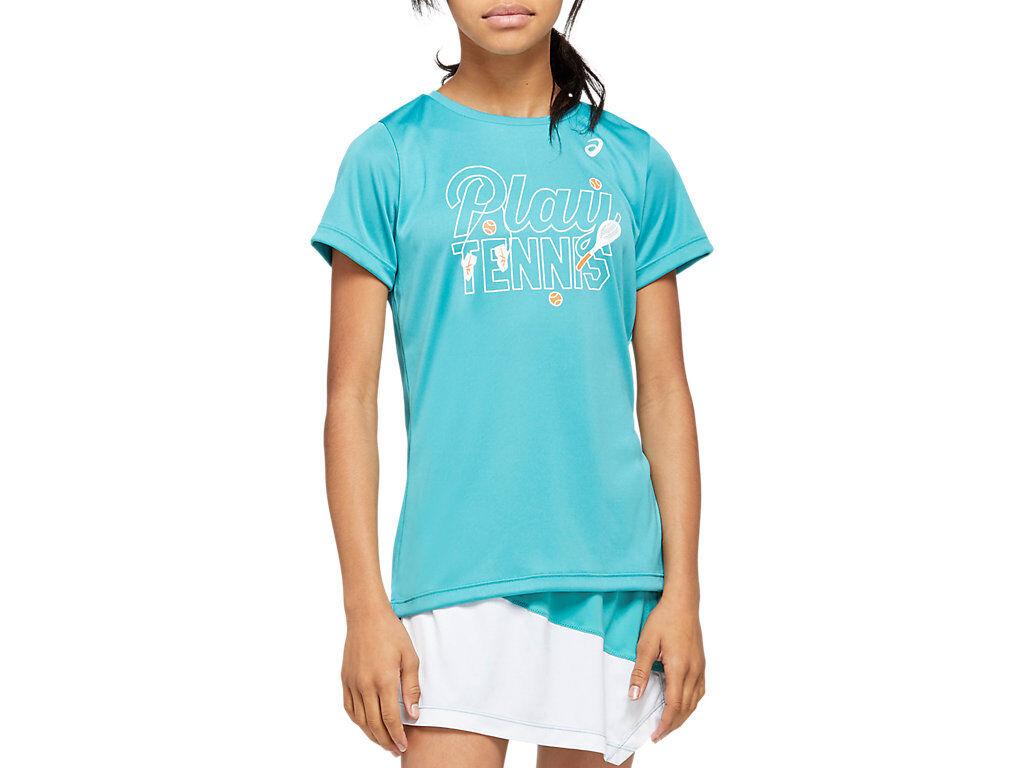Asics Tennis G Kids Gpx T Techno Cyan Enfants Taille XL