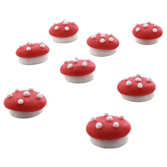 ALICE DELICE 8 décors sucre champignons 6g
